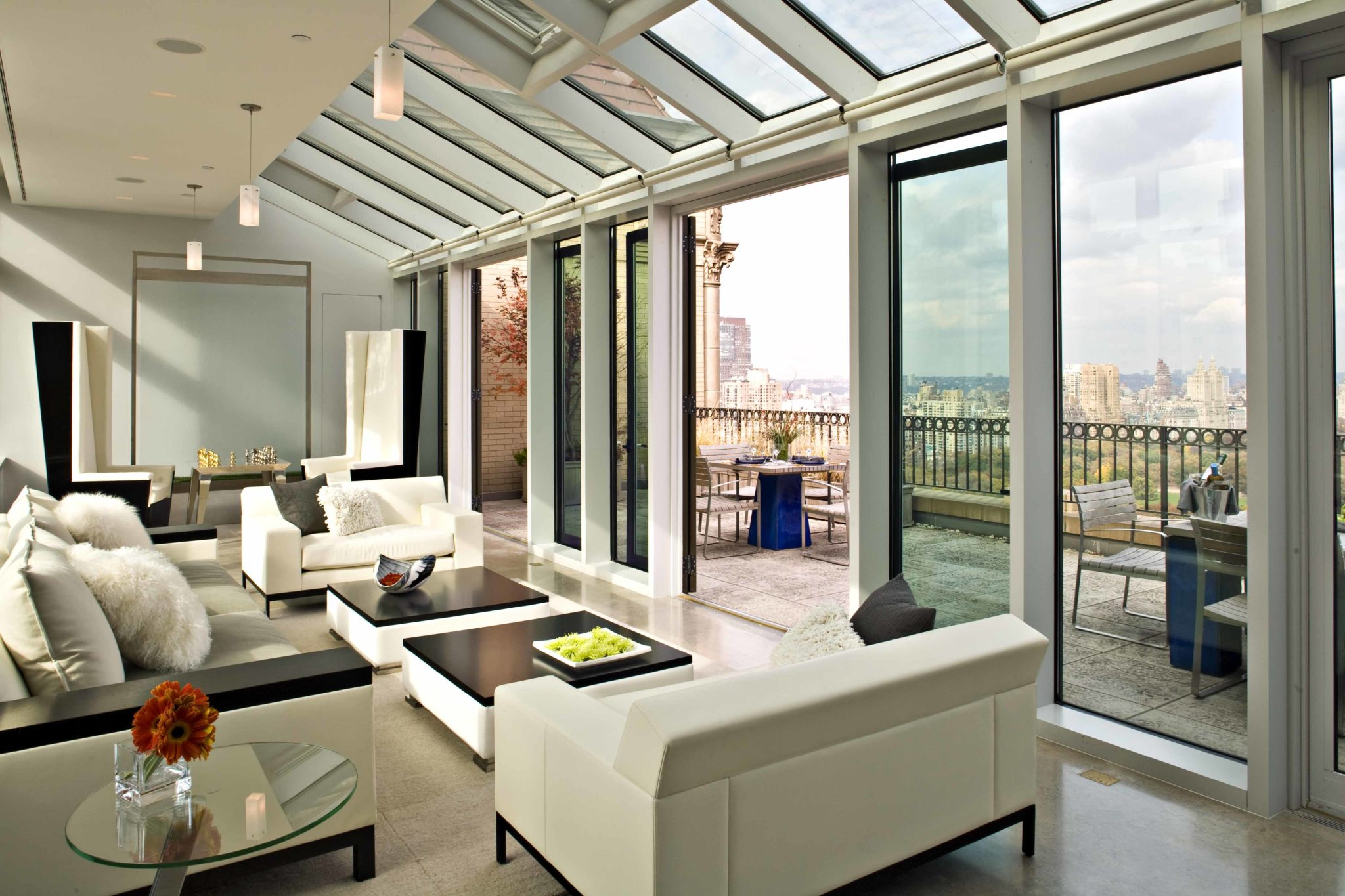 Gustavson_Dundes - Central Park South Penthouse - Solarium
